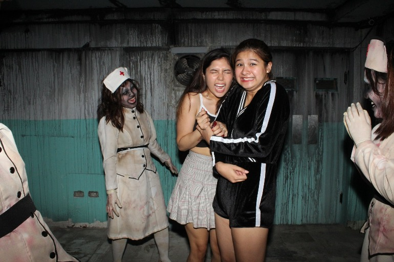 Go through the 4 Stages of Fear at Asylum Manila