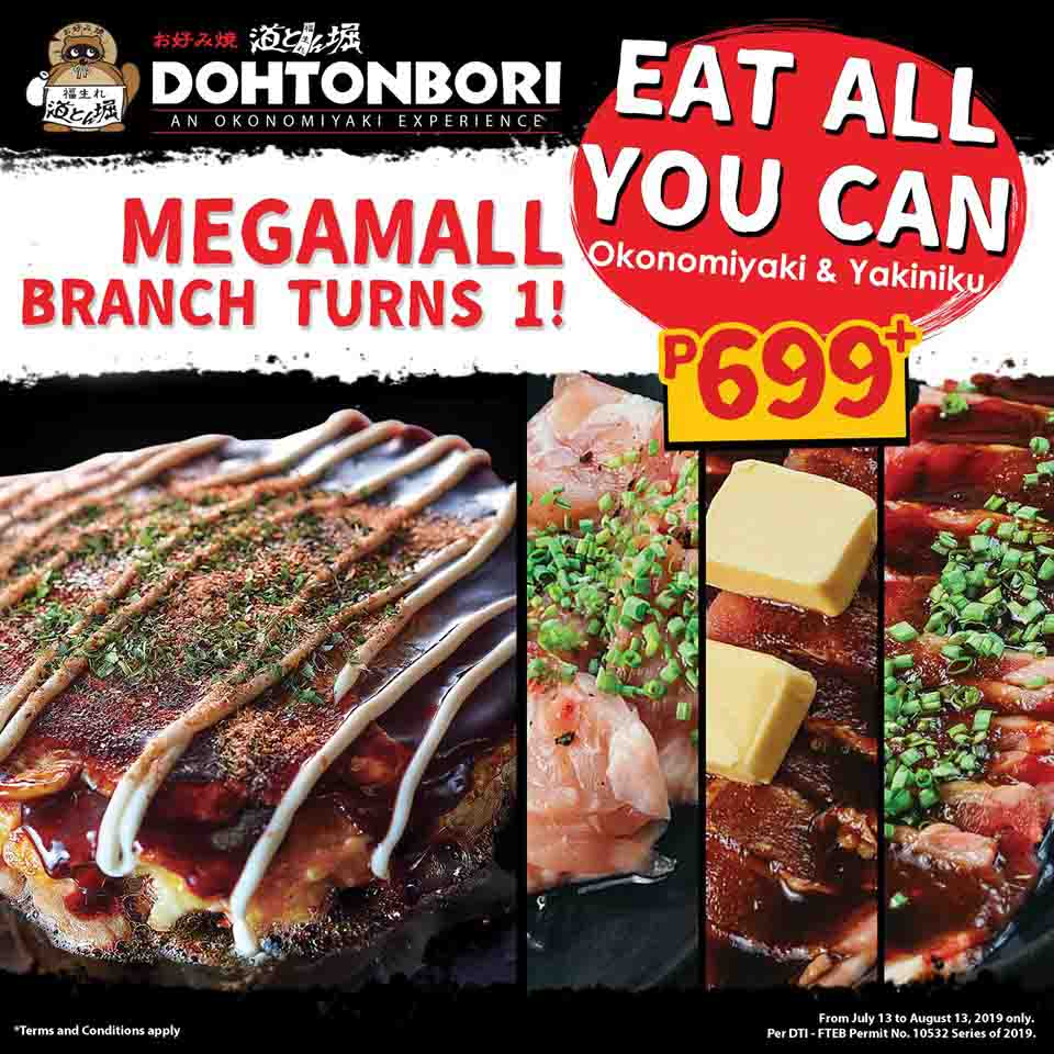 Eat All You Can Dohtonbori Poster