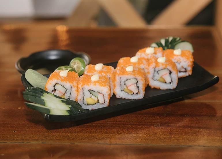 California Maki from Kampai Sushi Bar