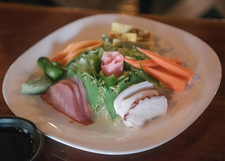Sashimi Platter from Kampai Sushi Bar