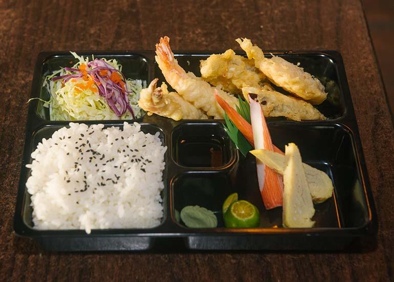 Ebi Bento from Kampai Sushi Bar