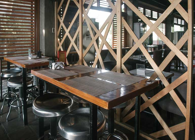 Kampai Sushi Bar Interior