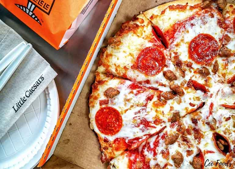Large Pepperoni Pizza from Little Caesars