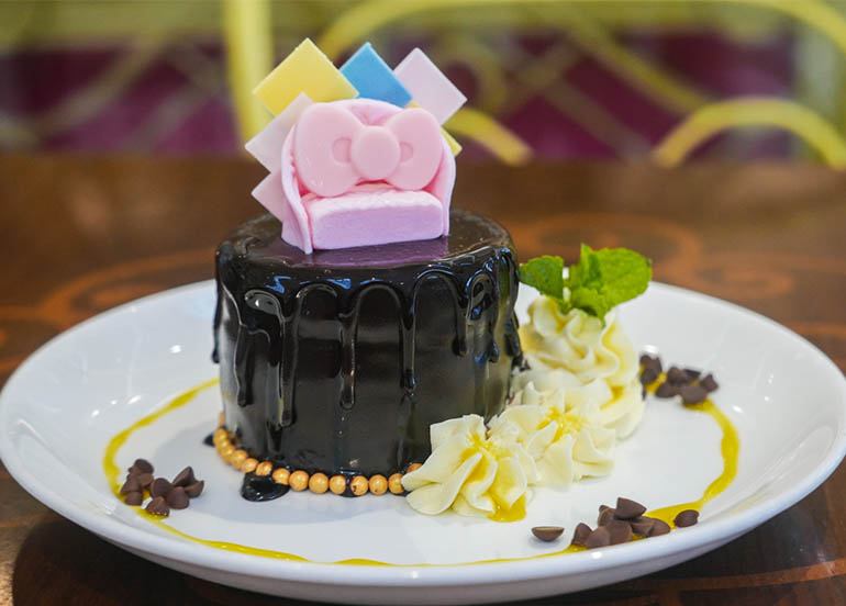 Chocolate Cafe from Hello Kitty Cafe Philippines