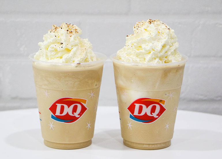 Cappucinno Frappe from Dairy Queen