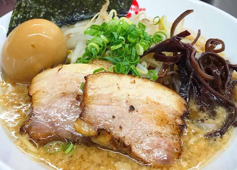 Ramen from Musashi Maru Restaurant