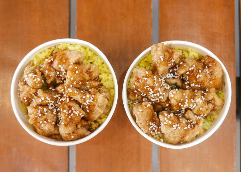 Hot Bites Korean Fried Chicken Rice Bowl