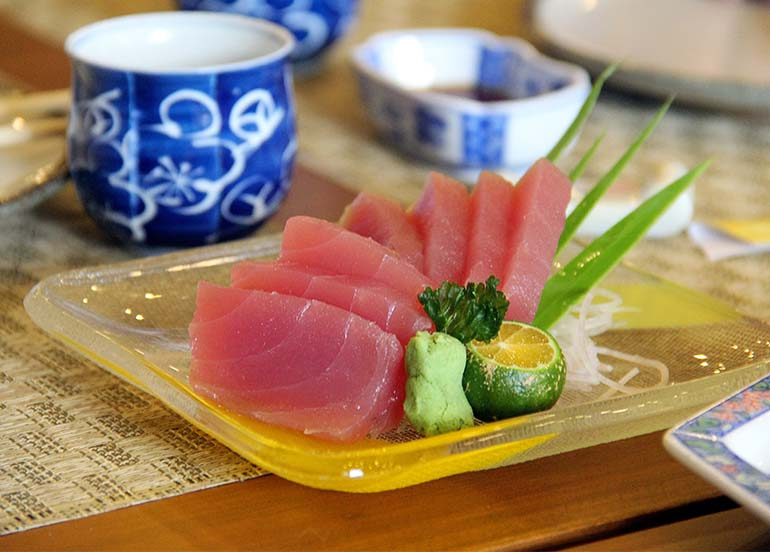 Tuna Sashimi from Shinsen Sushi Bar and Restaurant