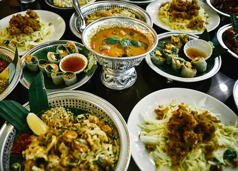 Authentic Thai Dishes from Basil