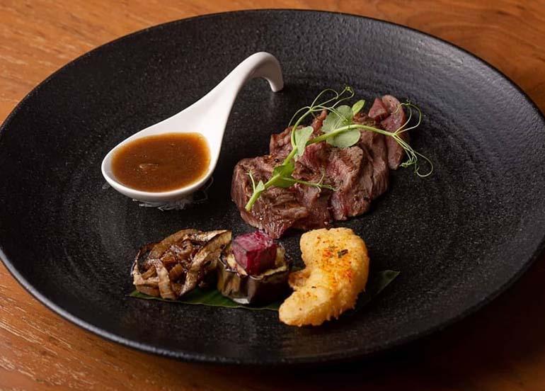 Grilled Beef Tenderloin Dishes from Nobu Restaurant