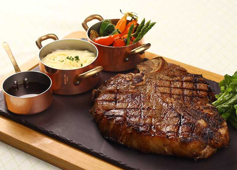 Steak from Finestra Solaire