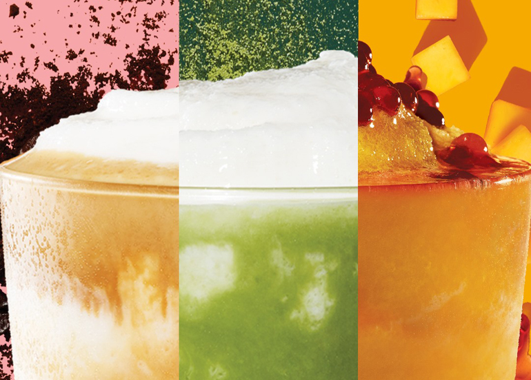 Three limited edition drinks from Starbucks
