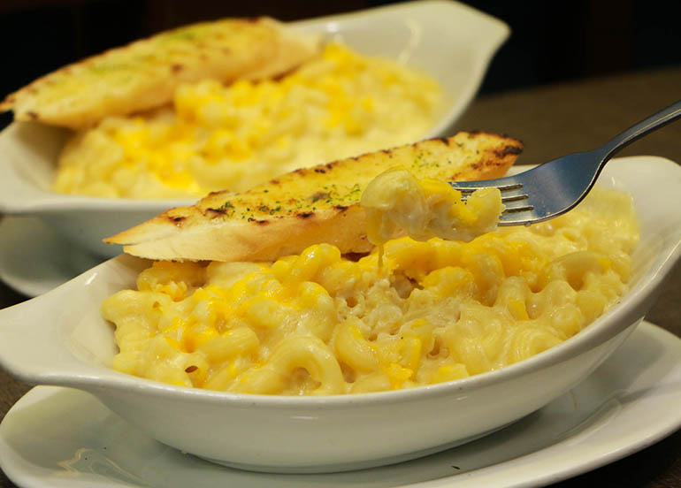 Mac and Cheese from Shrimp Shack