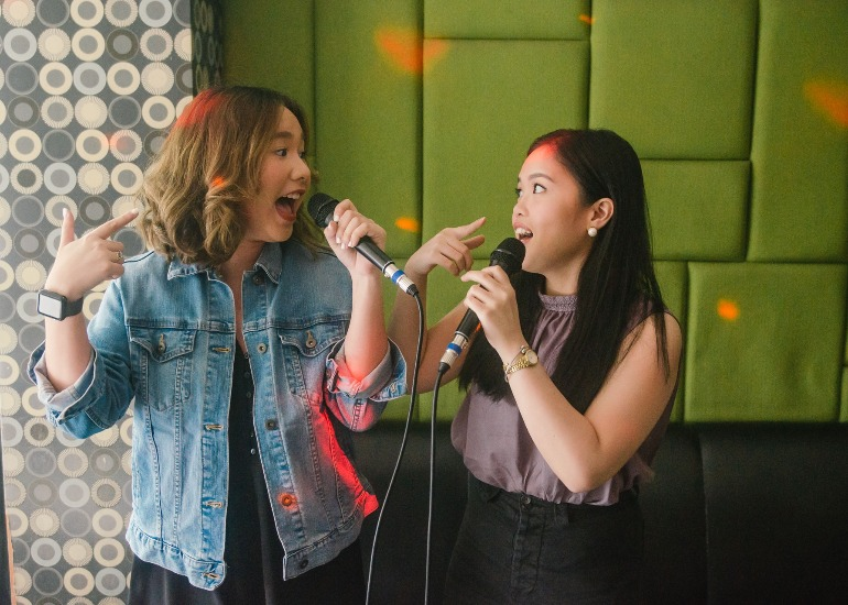 This KTV Bar in Makati let's you Sing to your Heart's Content!