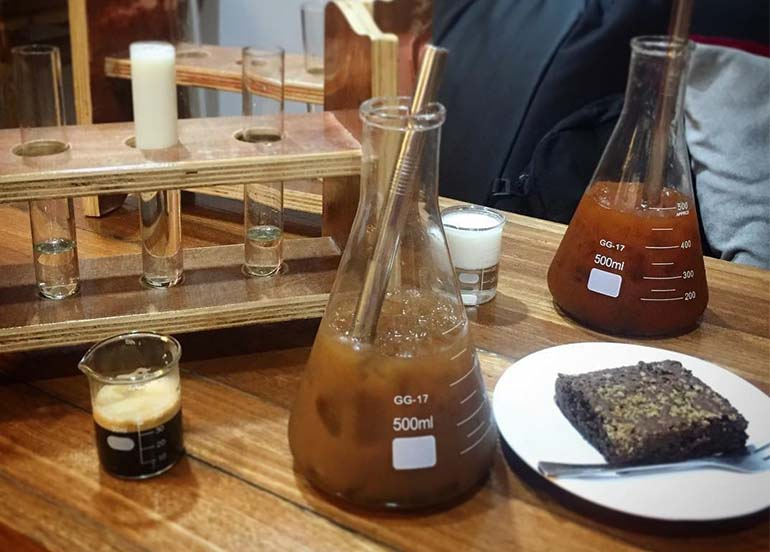 Coffee Experiment from Chemistea