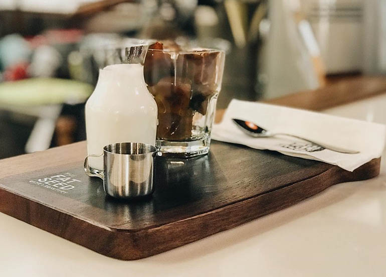 Coffee Cubes from The Fat Seed Cafe + Roastery