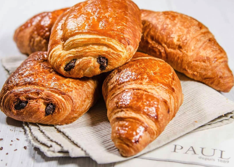 Paul Croissant with Chocolate Filling