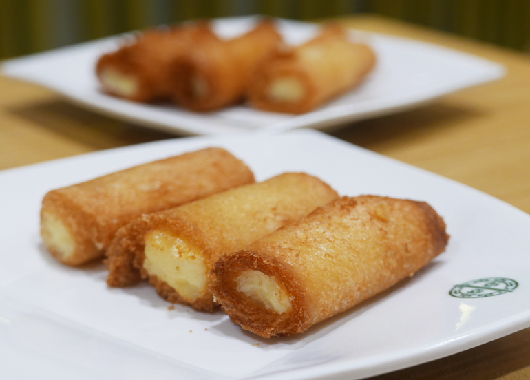 Tim Ho Wan Deep Fried Milk Custard Rolls