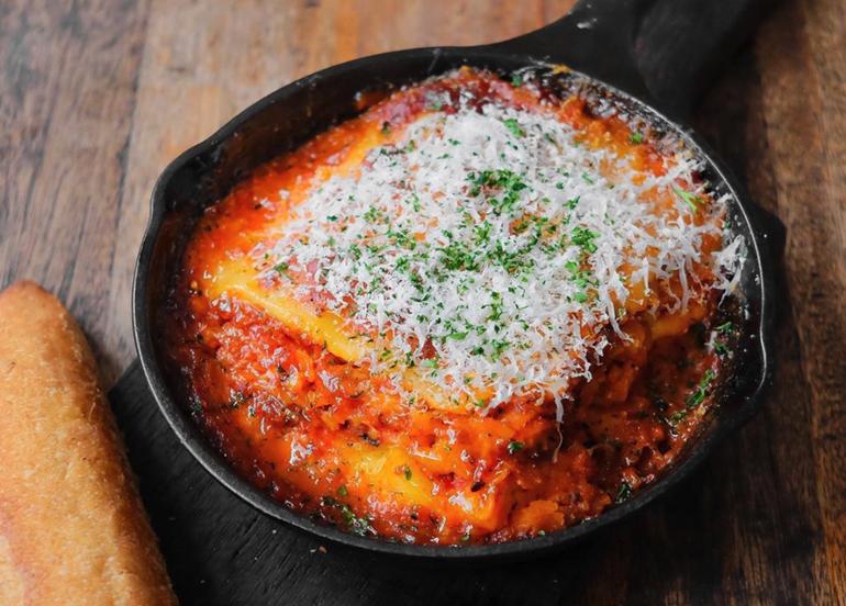 Little Flour Cafe Lasagna