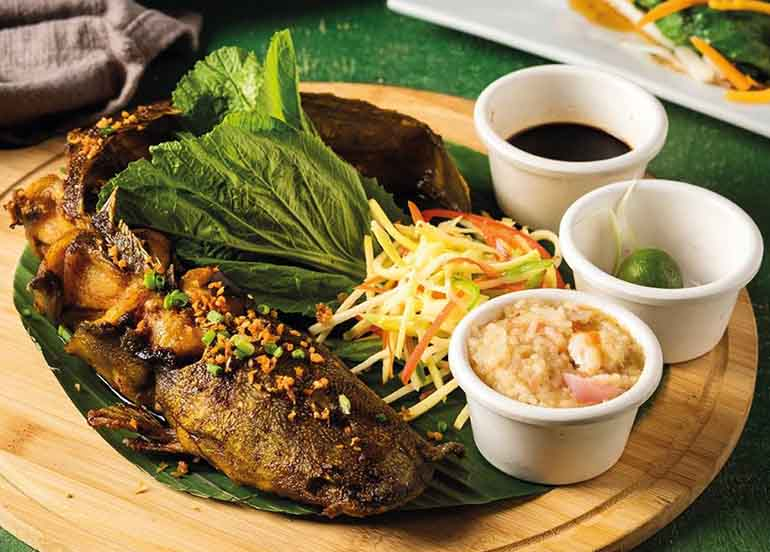 Grilled Hito from Blackbeard's Seafood Island