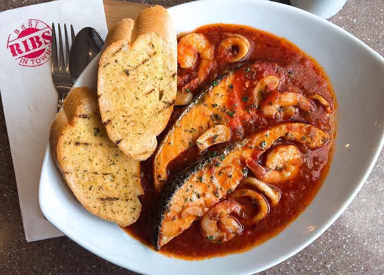 Seafood Stew from Racks