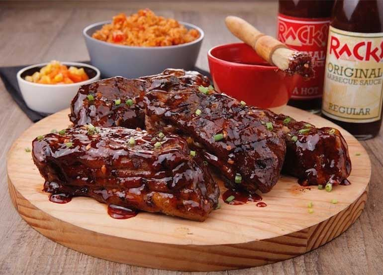 Sweet and Sticky Pork Ribs from Racks