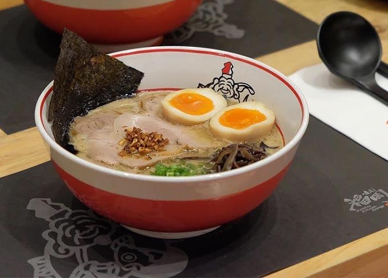 Ramen from Ikkoryu Fukuoka Ramen