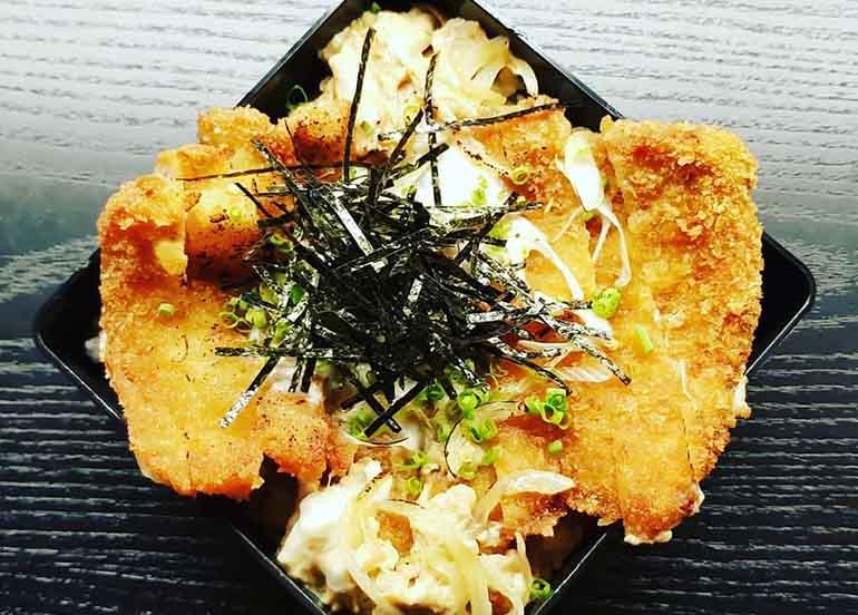 Katsudon from Fukujin Izakaya