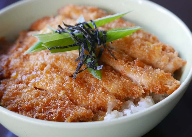 Katsudon from Bento and Co