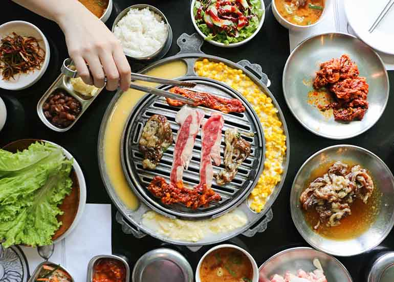 Samgyupsal or Grilled KBBQ from Leann's Tea House