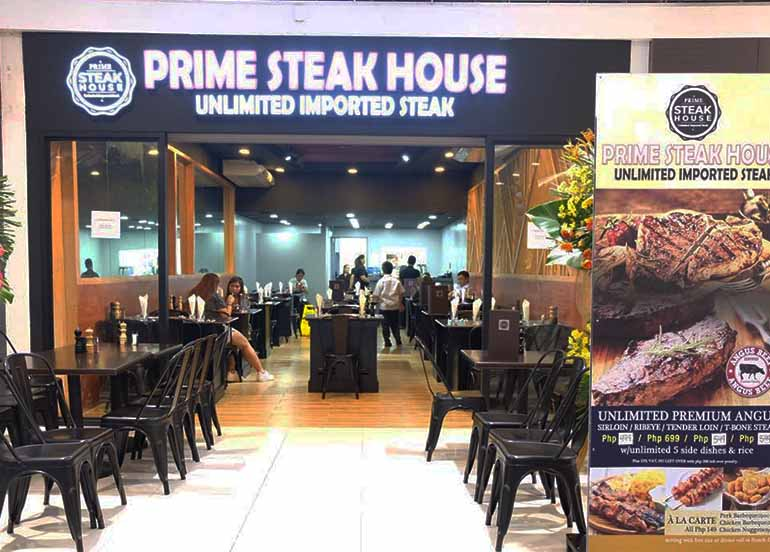 Prime Steak House Exterior