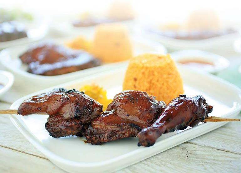 Chicken Barbecue from The Aristocrat Restaurant