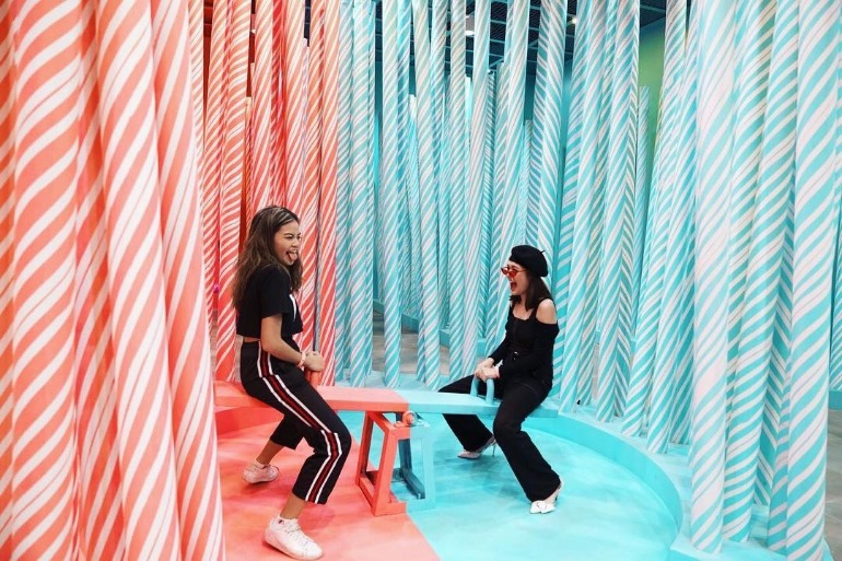 seesaw-candy-cane-naught-nice-pathway-pink-blue-dessert-museum