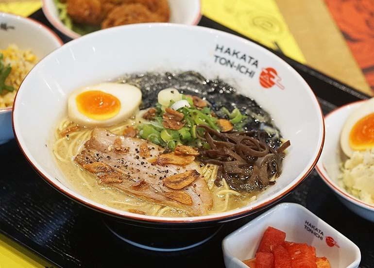Ramen from Hakata Ton Ichi