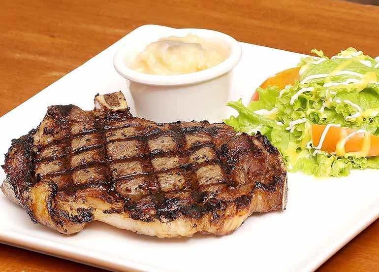 Wagyu Prime Rib Steak at Robertos