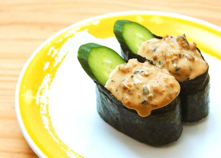 Kyuri Unagi Gunkan by Genki Sushi