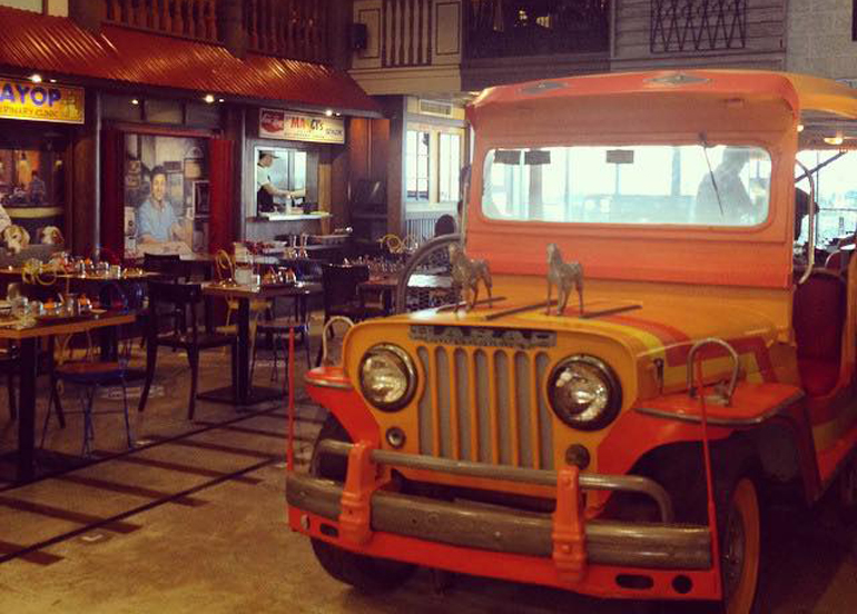 Pedro N Coi Interior with Jeepney structure