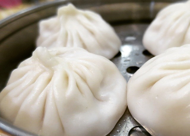 Xiao Long Bao Closeup