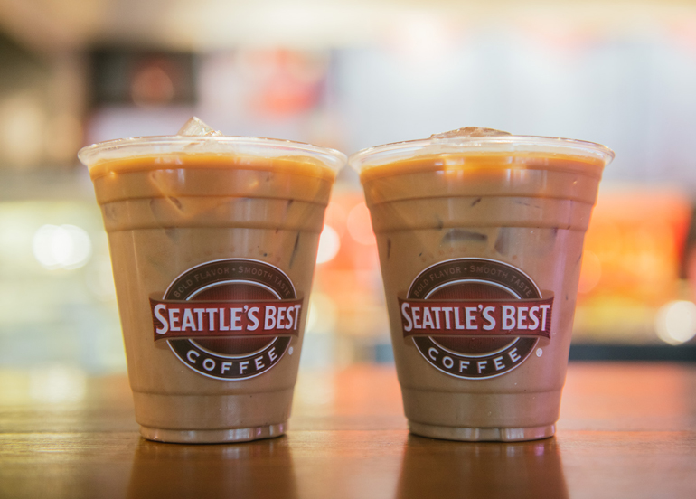 Seattles Best Coffee Small Iced Mocha