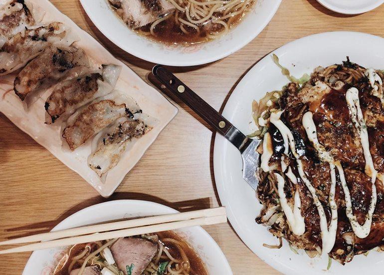 okonomiyaki-gyoza-dishes