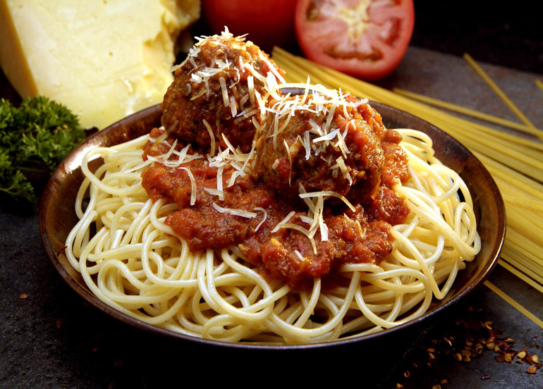Spaghetti and Meatballs from Yellow  Cab