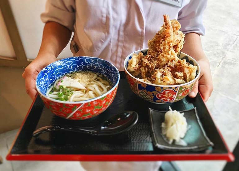 Tendon Lunch Special from Tendon Kohaku