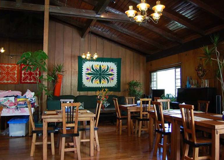 Chaya Baguio Interiors and Dining Area