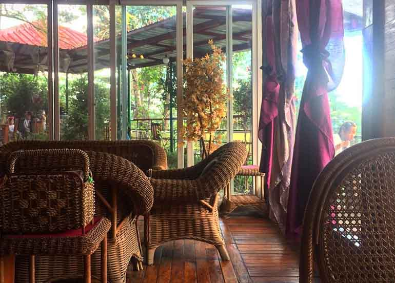 Secret Garden Resto and Cafe Co Interiors and Dining Area