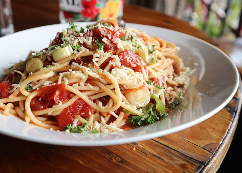 Pasta from Oh My Gulay