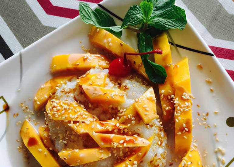 Mango Sticky Rice from Chef's Home Baguio City