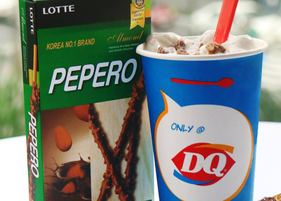 The Dessert Combo We Missed Dearly: DAIRY QUEEN + PEPERO