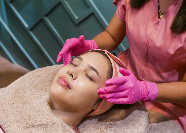 Cara laser skin care korean glass treatment