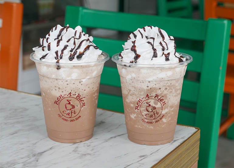 Macadamia Choco Iced Coffee Blend from Cafe Ben a Bien