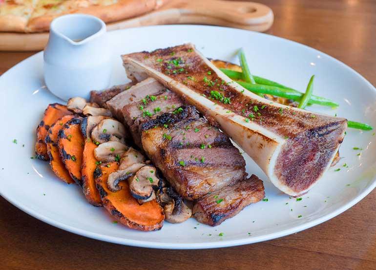 Steak and Bone Marrow from Antonio Uno